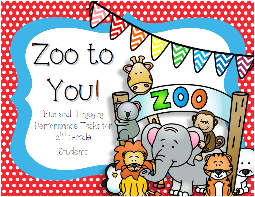 http://www.teacherspayteachers.com/Product/Zoo-to-You-Performance-Tasks-for-2nd-Graders-1230805