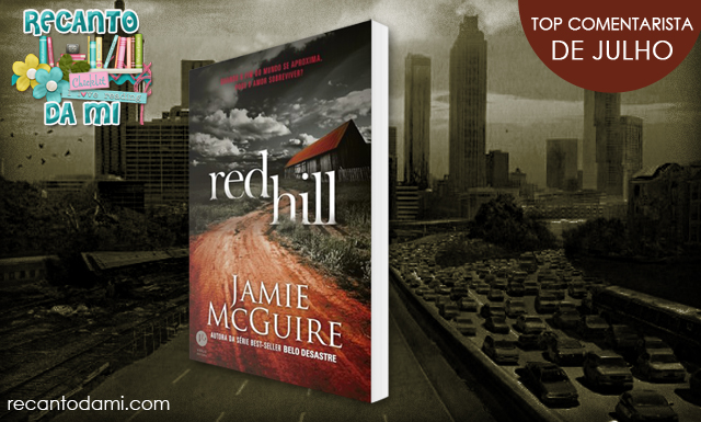 Promoção Livro Red Hill Jamie McGuire