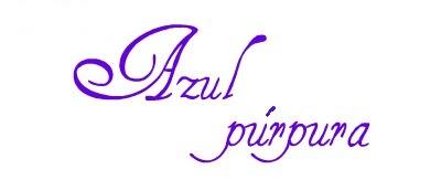 azul purpura por nuria