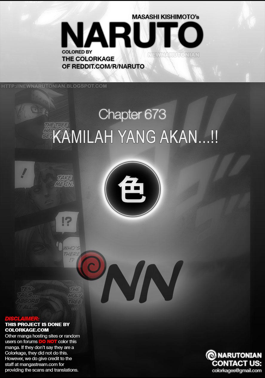 Naruto Chapter 673 Full Color - Kamilah yang Akan...!!
