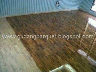jual lantai kayu parket jati solid murah dan bagus