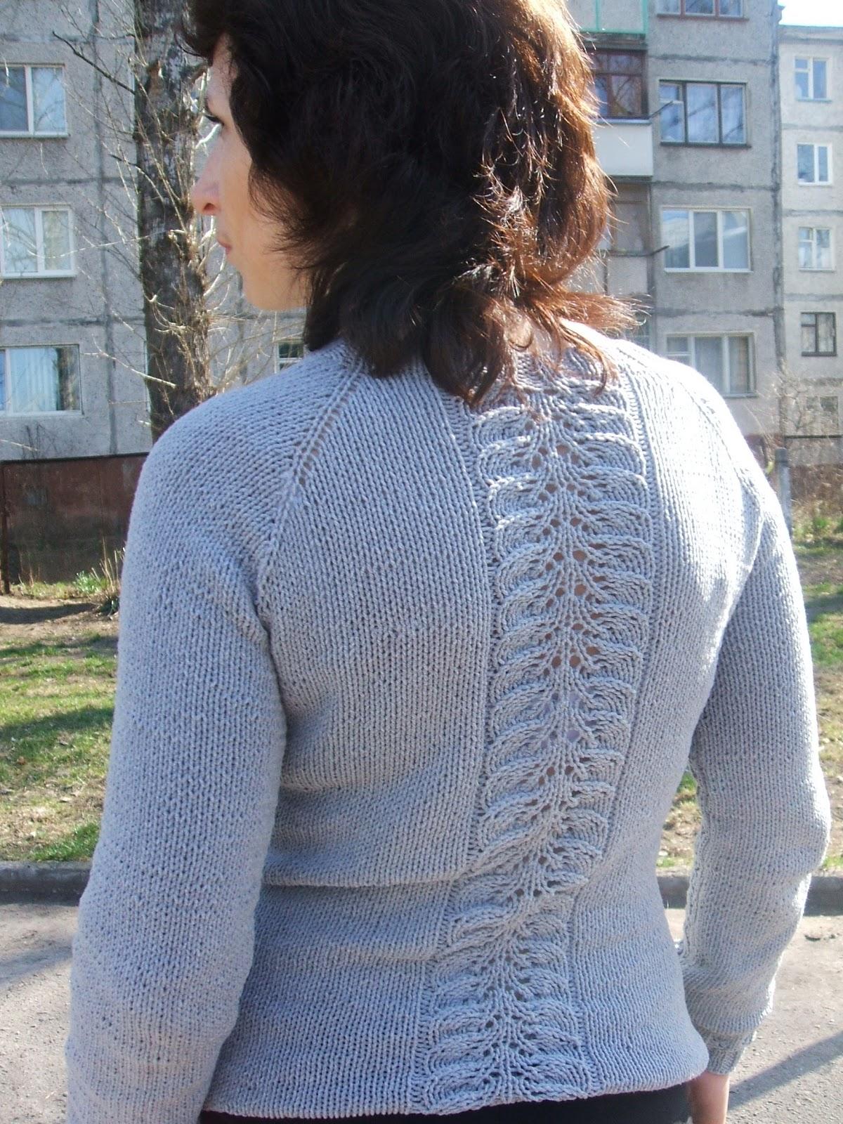 Пуловер для дочки от Светланы Волковой - Вяжем вместе 25