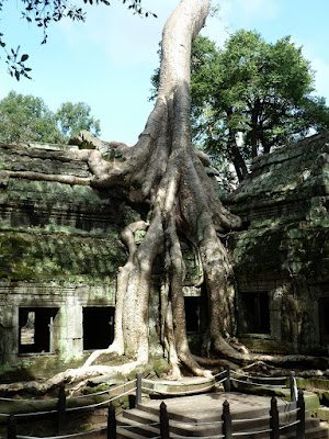thapronh en Angkor, Camboya