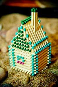Построить домик из спичек
