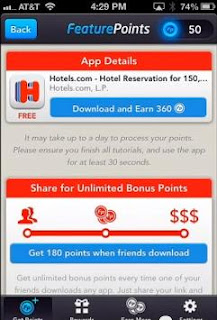 feature points download app