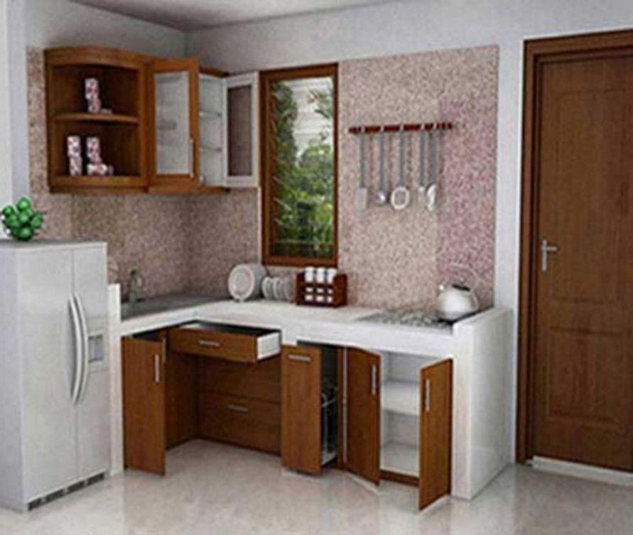 penataan desain interior dapur type 36 yang indah