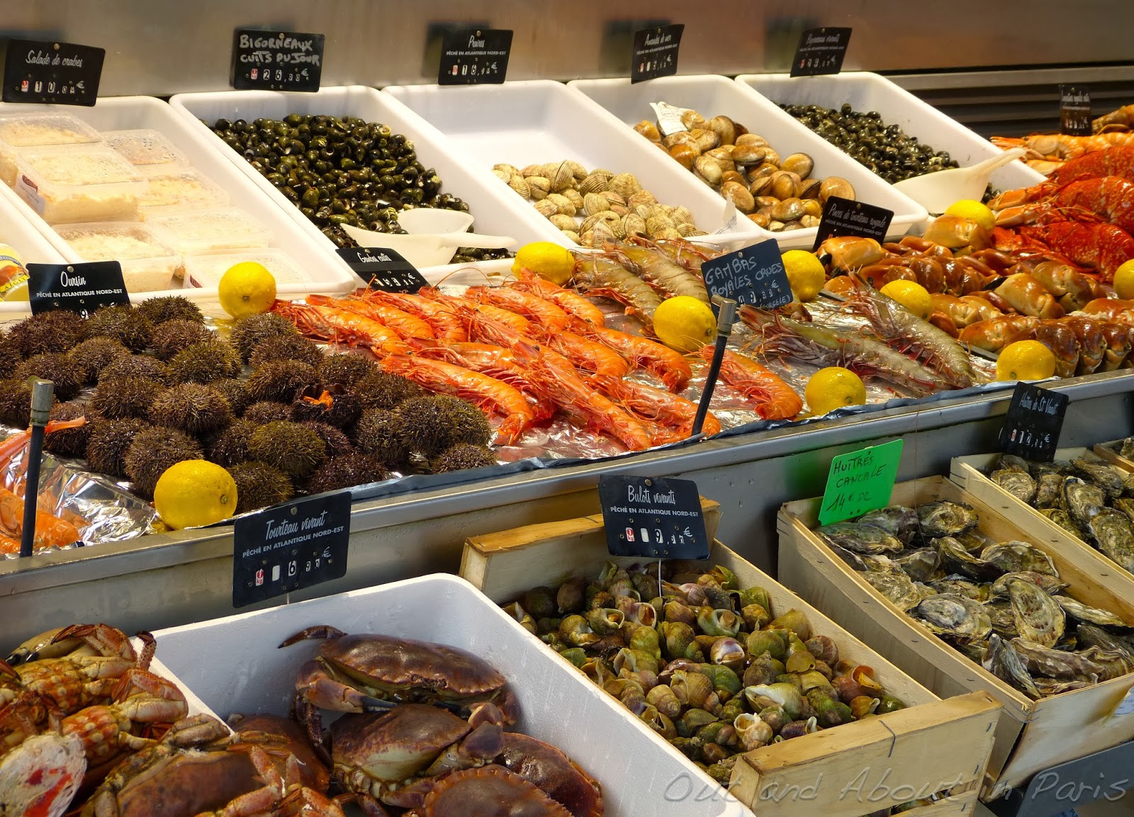 Sunday 39 s video the seafood market in trouville normandy for Seafood fish market