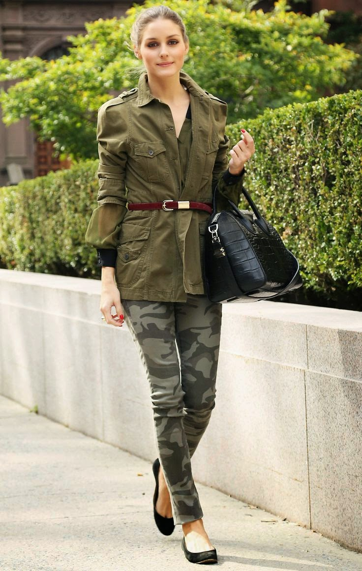 Top 5 Chic Ways to Wear Camouflage