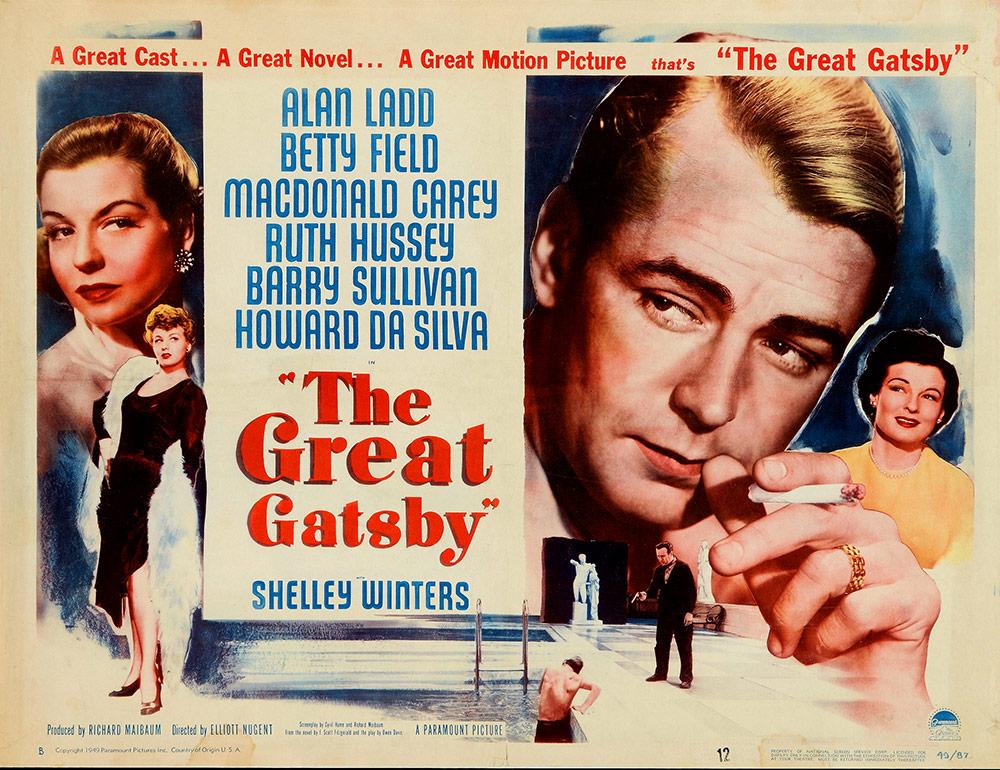 Great gatsby orginal movie poster