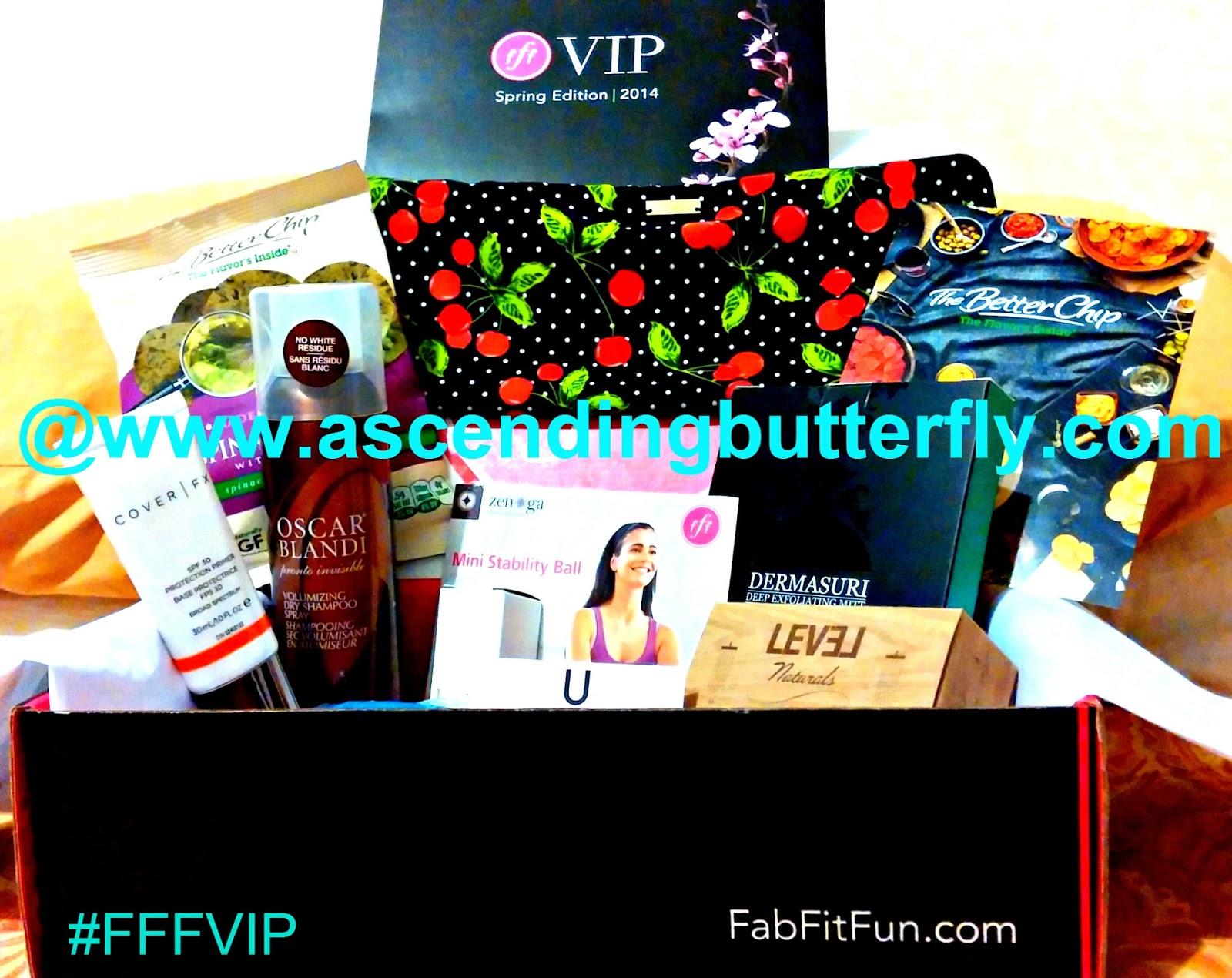 Spring 2014 FabFitFun Box