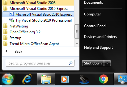 how to connect microsoft access database to visual basic 2010