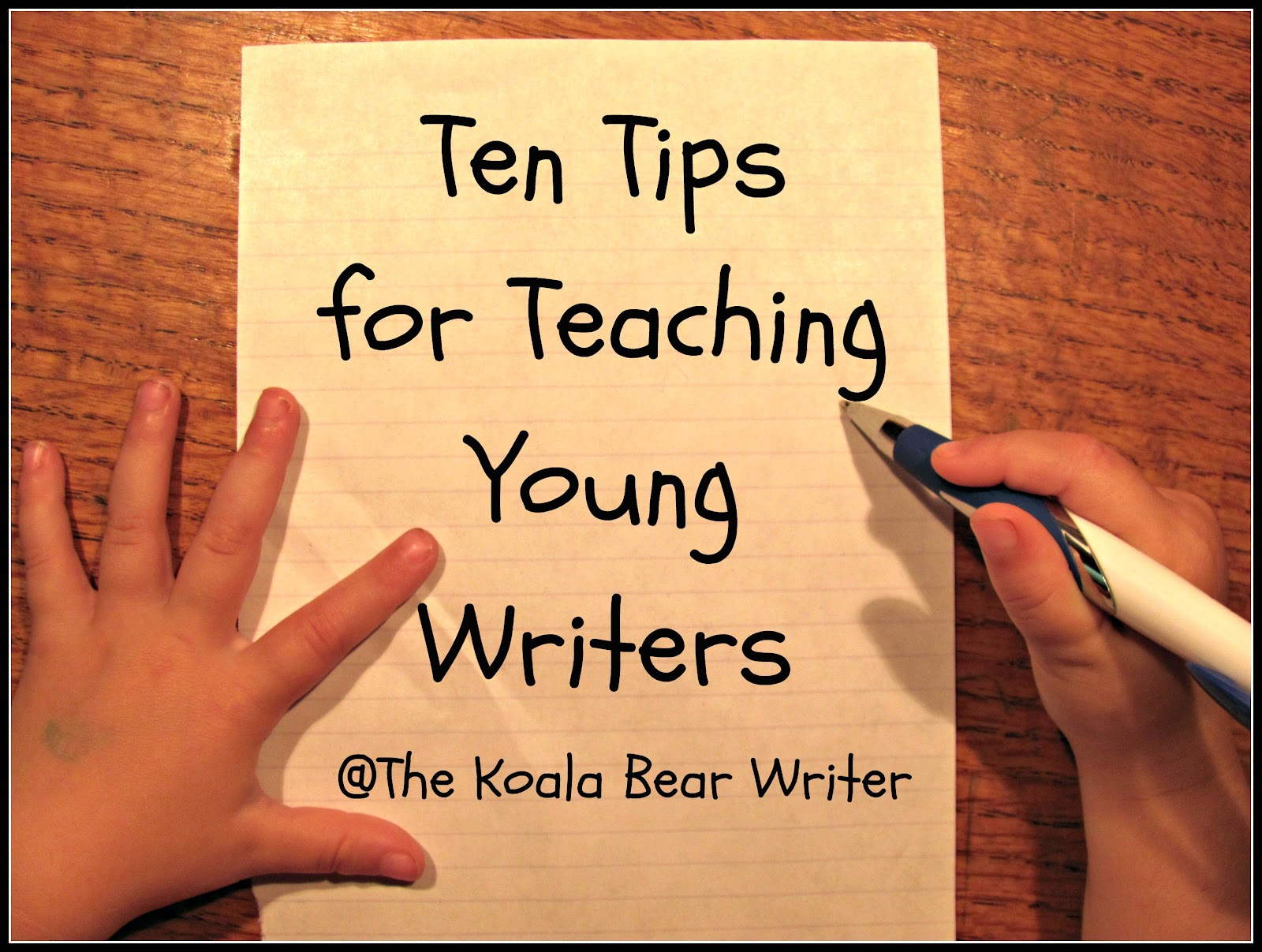 Young writers essay