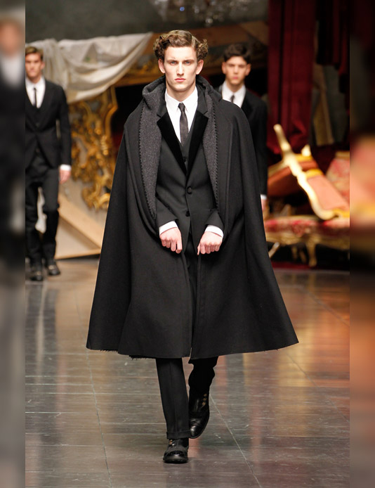 01 Dolce & Gabbana Menswear Fall/Winter 201213!