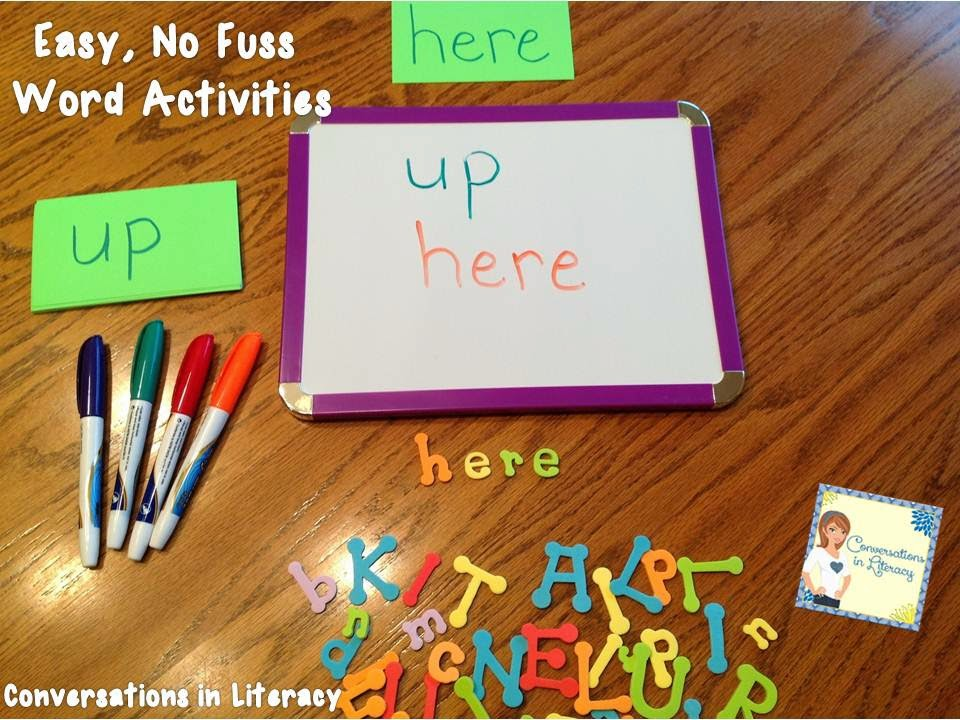 sight word review idea, Bright Ideas for the Classroom
