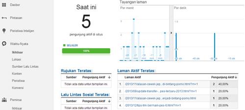 Cara Mengetahui Jumlah Pengunjung dan Traffic Blog