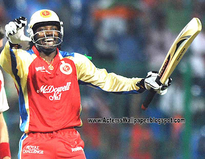Chris Gayle Fast Batting For IPL 2013 Chris Gayle IPL 2013 Pictures