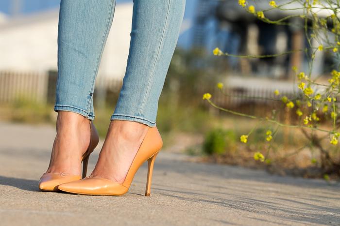 Zapatos de tacón de aguja y punta afilada colección de la Blogger Adicta a los Zapatos withorwithoutshoes