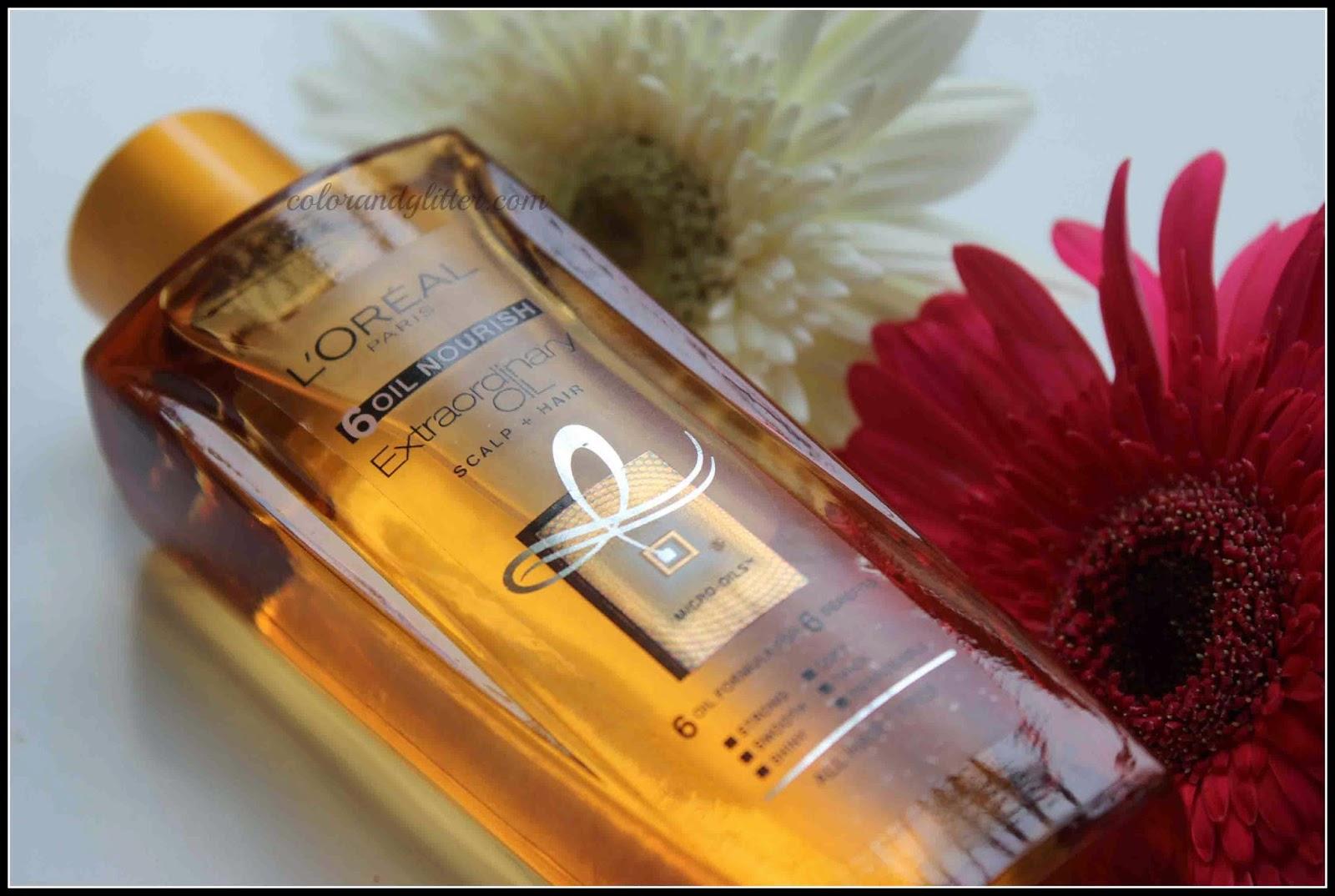 L'Oreal Paris 6 Oil Nourish Oil || Review