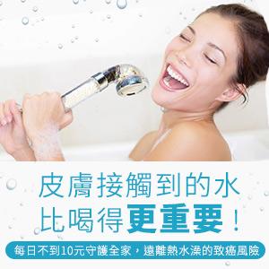 【極淨源】微型淨水器i shower系列