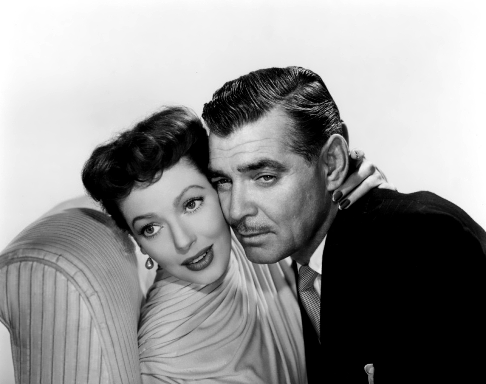 Loretta Young And Clark Gable Loretta Young And Clark Gable