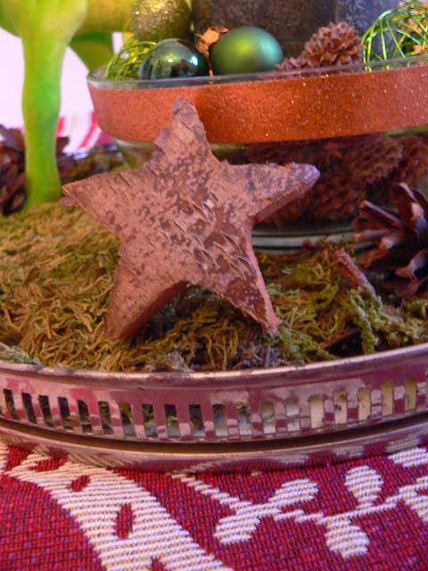 Weihnachten Deko Stern Holz