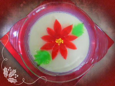 gelatina nochebuena
