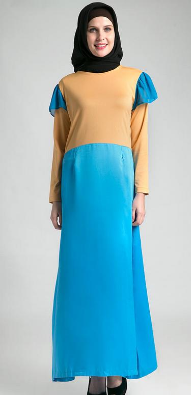 Model Busana Muslim Gamis bagi Wanita Gemuk