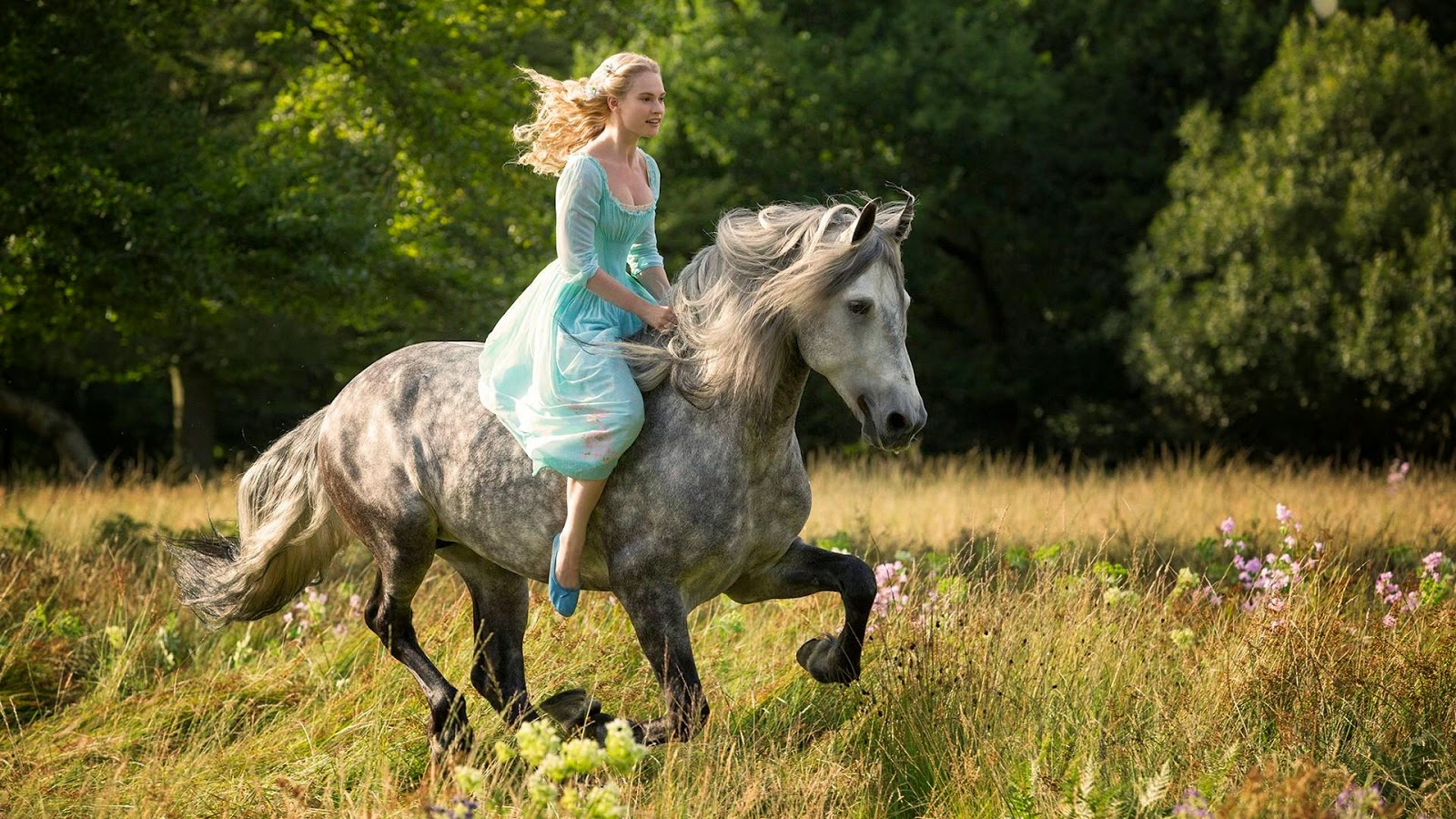 The fine art diner kindness courage cinderella 2015 this was the first image released by the studio for the film and its a fitting characterization of ella why horses symbolize the holy spirit buycottarizona Gallery