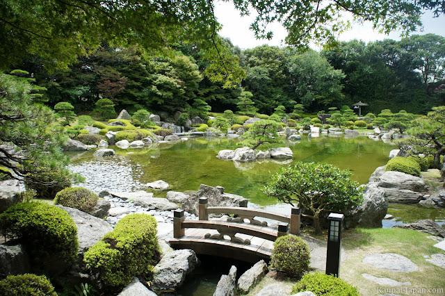Jardín de Fukuoka en Japón