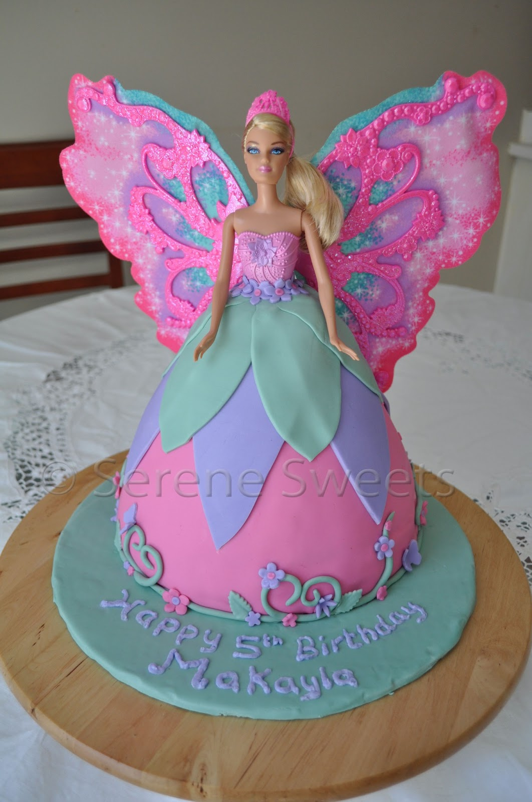 Image Barbie Fairy Cake Download