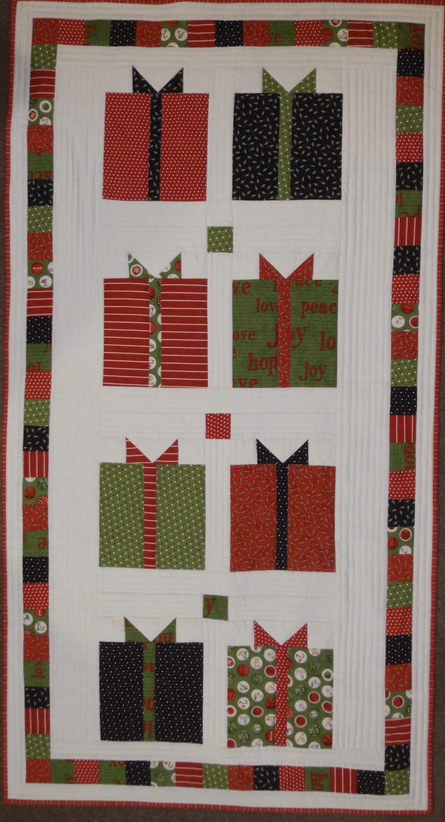 Pp Blog Christmas Present Quilt