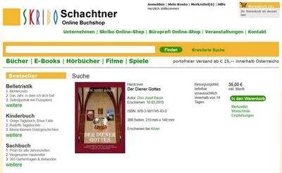 Buchbestellung Verlag Schachtner