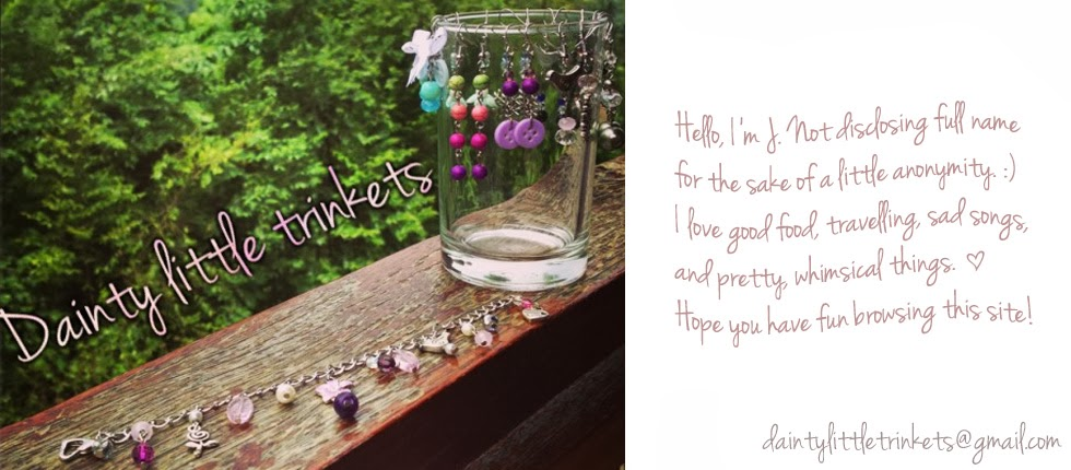 Dainty Little Trinkets - an assortment of accessories, handmade with love ♥