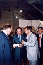 Con el Presidente de Las Cortes José Bono