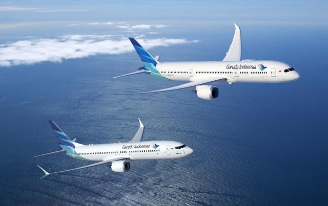 maskapai pesawat garuda indonesia airlines