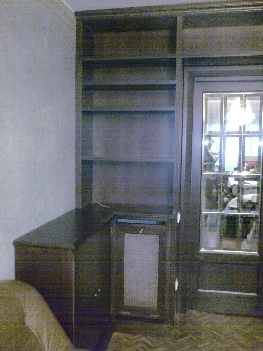 Sustituci n de mueble de sal n antiguo muebles cansado - Muebles de salon antiguos ...