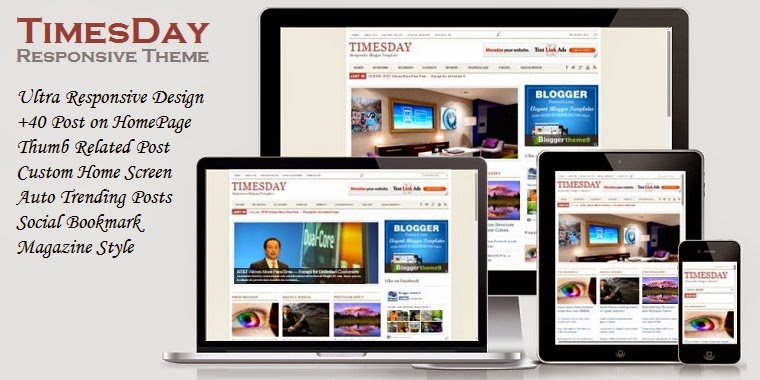 Timesday Responsive Template