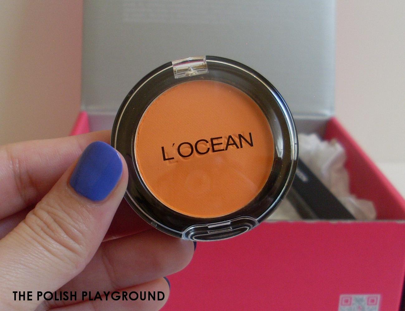 Memebox Colorbox #2 Orange Unboxing - L'OCEAN Eye Shadow L-29 Pastel Orange