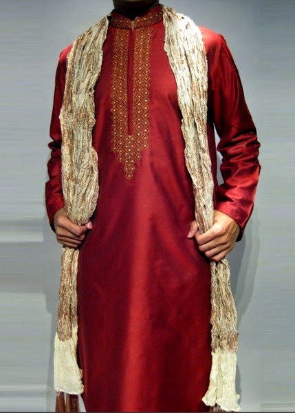 Deepak Perwani Menswear Kurta Collection 2014