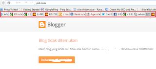 blog yang sudah dihapus bisa digunakan kembali