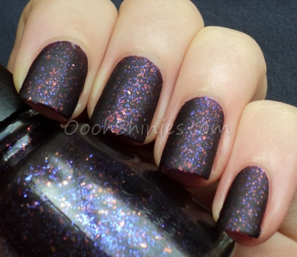 China Glaze Howl You Doin' mattified