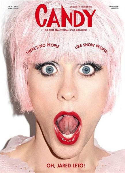 Jared Leto transgender magazine