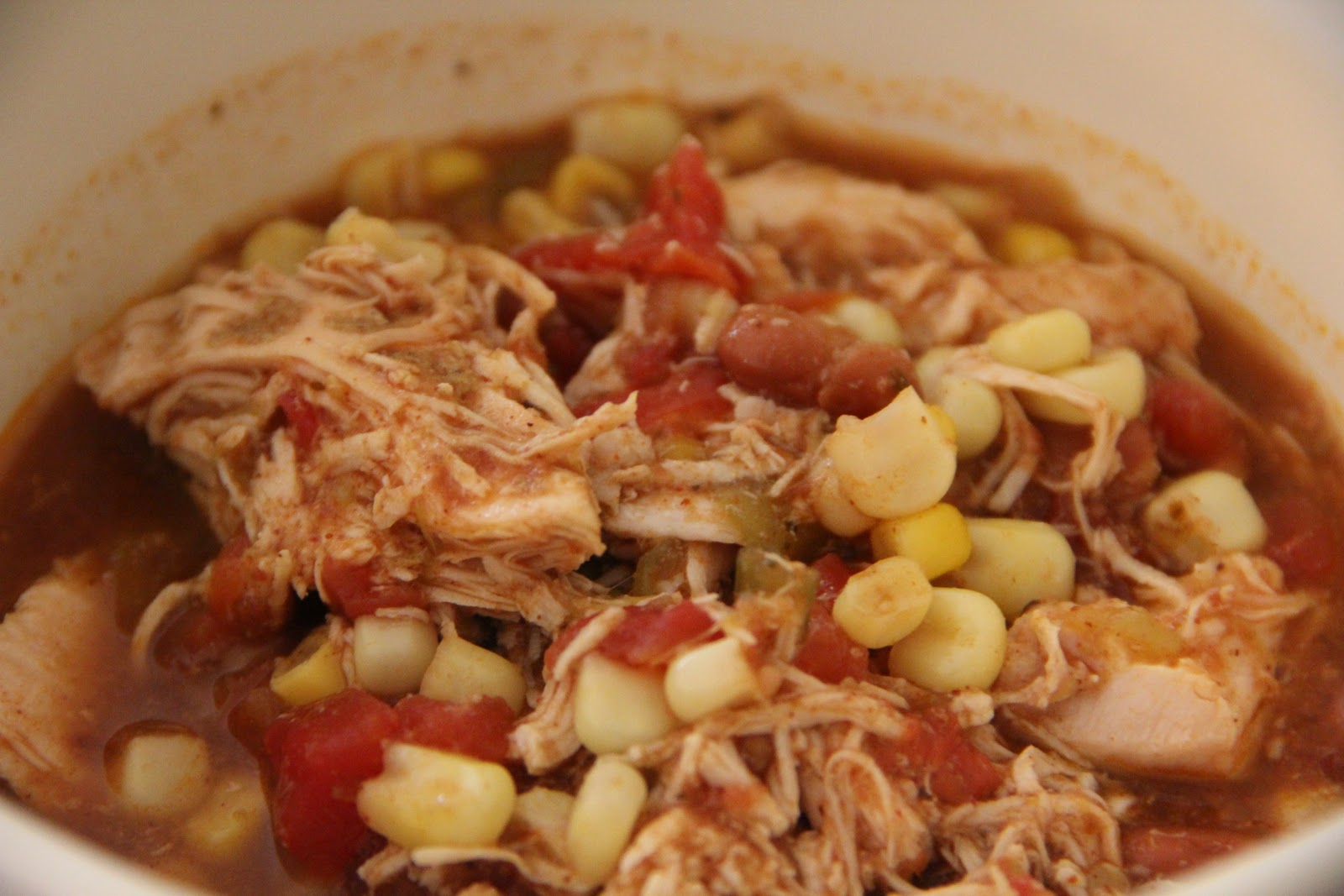 Mix and Match Mama: Dinner Tonight: Slow Cooker Chicken Tortilla Soup