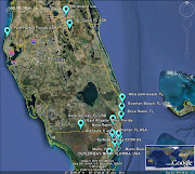 Florida Meteor 17FEB2013 v.1 (c) LunarMeteorite*Hunter / Google Earth (florida meteor feb)
