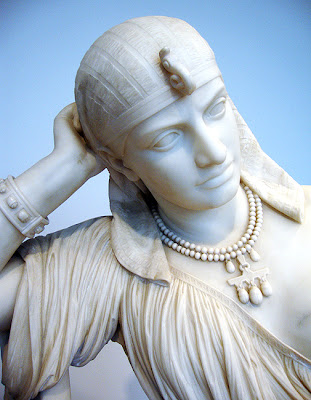 "Marble Sculpture, High Museum of Art ""Cleopatra"""