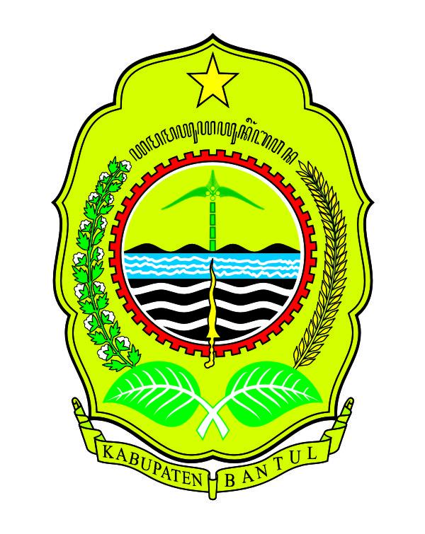 logovectorcdr logo kabupaten bantul