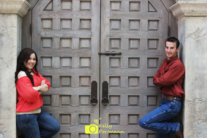 Engagement photos, Gaylord Texan Resort