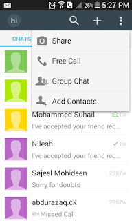 Free international call using android Hi