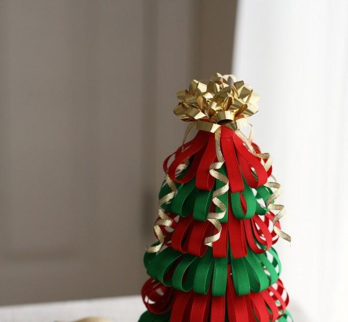 Craft Tutorials Galore At Crafter Holic Ribbon Christmas