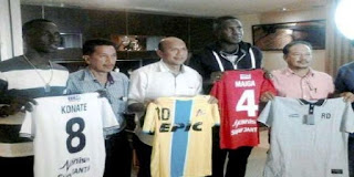 Makan Konate Resmi Pindah dari Persib Bandung ke T-Team Malaysia